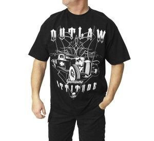 Outlaw Threadz アウトロースレッズ メンズ ATTITUDE Tシャツ 【Men's Attitude Tee】 Size:XL [520535]
