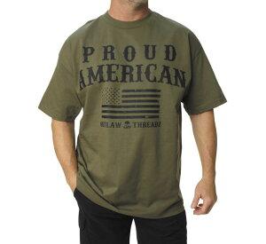 Outlaw Threadz アウトロースレッズ メンズサポートTシャツ 【Men's Support Tee】 Size:L [520579]
