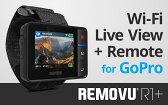 【在庫あり】ゴープロ 各種電子機器マウント・オプション 【GoPro純正品】REMOVU R1+ウェアラブル防水ライブビューモニターリモコンキット