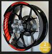 ステッカー・デカール MOTOINKZ モトインクズ GPレーシングホイールストライプ・リムステッカー2(GP Racing Wheel Stripes design 2) リアホイールサイズ(Rear):17inch フロントホイールサイズ(front):17inch