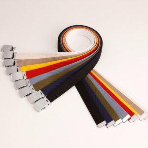 【 ネコポス 送料無料 】 GIベルト ガチャベルト キッズサイズ 90センチ 子供用 ボーイズ ガールズ メンズ レディース 布ベルト ベルトくすみにくい クロームメッキ仕様 日本製 ベルト サイズカット調整 穴無しベルト