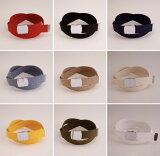 【ネコポス対応 送料無料】 ガチャベルト GIベルト 32ミリ幅 belt 120センチ 自社生産 日本製 おしゃれ メンズ レディース ベルト 布ベルト くすみにくい クロームメッキ 仕様 選べる ナイロン 綿 Lサイズ サイズカット調整 穴なしベルト