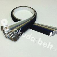 LサイズガチャベルトGIベルト32ミリメンズベルト布ベルトくすみにくいクロームメッキ仕様選べるナイロン綿120センチ自社生産日本製おしゃれ
