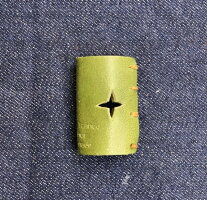 栃木レザー革リング非接触タッチレス本革指輪レザーリングボタン触らない本革リングボタン二次接触防止おすすめ自社生産