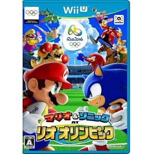 【Wii U】 マリオ&ソニック AT リオオリンピック 【20160623】【ネコポス対象品…