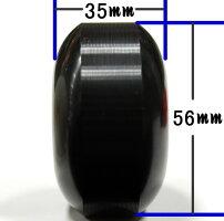 スケボーソフトウィールWEBSPORTSオリジナルブラック56mm90Aスケートボードウィール