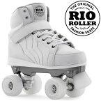 RIO ROLLER クワッドスケート 2018 KICKS White ローラースケート 【smtb-k】[%OFF]【楽ギフ_包装】【w96】