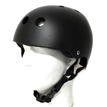 ウェブスポーツ オリジナル スケートボード インライン用 ヘルメット マットブラック【w09】