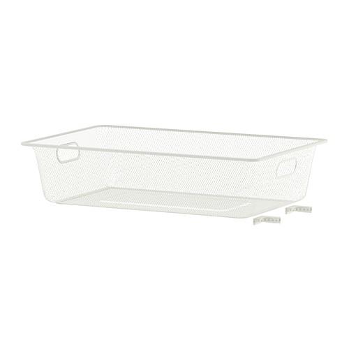 【IKEA/イケア/通販】 ALGOT アルゴート メッシュバスケット, ホワイト(c)(90218518)