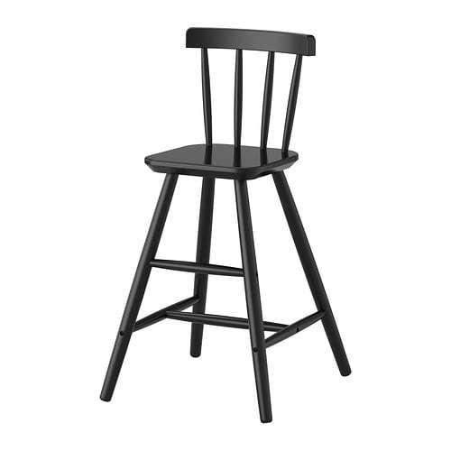 【期間限定】【IKEA/イケア/通販】 AGAM アーガム 子供用チェア, ブラック(a)(70253536)