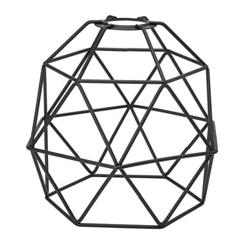 【IKEA/イケア/通販】 BRUNSTA ブルンスタ ペンダントランプシェード, ブラック(c)(70382430)