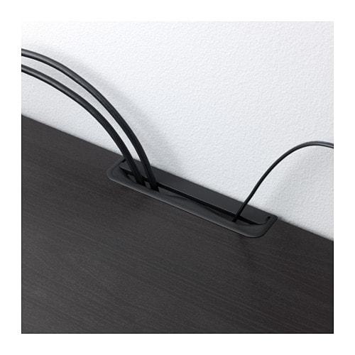 【IKEA/イケア/通販】 BESTÅ ベストー テレビ台 引き出し付き, ホワイトステインオーク調, セルスヴィーケン ハイグロス/ホワイトフロストガラス(a)(S59186459)【代引不可商品】