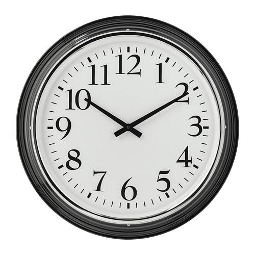 【IKEA/イケア/通販】 BRAVUR ブラブール ウォールクロック, ブラック(a)(20391903)
