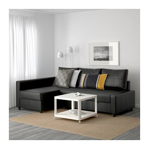 【IKEA/イケア/通販】FRIHETENフリーヘーテンコーナーソファベッド収納付き,スキフテボーダークグレー(a)(S09216755)【代引不可商品】