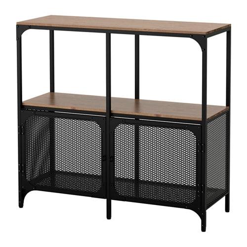 【期間限定】【IKEA/イケア/通販】 FJÄLLBO フィエルボ シェルフユニット, ブラック(d)(80339295)