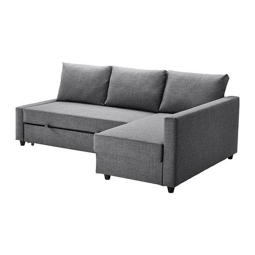 【IKEA/イケア/通販】 FRIHETEN フリーヘーテン コーナーソファベッド 収納付き, スキフテボー ダークグレー(a)(S09216755)【代引不可商品】