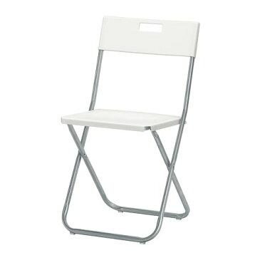【IKEA/イケア/通販】 GUNDE グンデ 折りたたみチェア, ホワイト(c)(20217800)