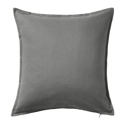 【IKEA/イケア/通販】 GURLI グルリ クッションカバー(※カバーのみの商品です), グレー(c)(30281145)