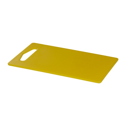 【IKEA/イケア/通販】 HOPPLÖS ホップロース まな板, イエロー(a)(00394714)