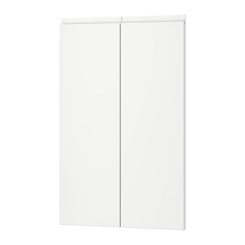 【IKEA/イケア/通販】 VOXTORP 扉 コーナーベースキャビネット用 部品2個, 右 ホワイト(a)(00310658):WEBYセレクション