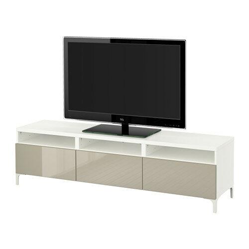 【IKEA/イケア/通販】 BESTÅ テレビ台 引き出し付き, ホワイト ...