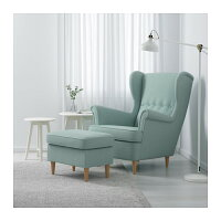 【IKEA/イケア】STRANDMONウイングチェア,スキフテボーイエロー(10361044)