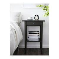【IKEA/イケア】HEMNESベッドサイドテーブル,イエロー(60181521)