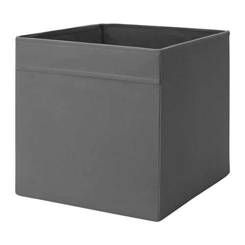 【IKEA/イケア/通販】 DRÖNA ドローナ ボックス, ダークグレー(c)(20443978)
