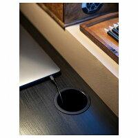 【IKEA/イケア/通販】MICKEミッケデスク,ブラックブラウン(00354275)