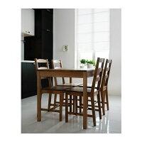 【期間限定】【IKEA/イケア/通販】JOKKMOKKテーブル&チェア4脚,アンティークステイン(20211105)木目カントリー調のダイニングテーブルとダイニングチェアのセット【送料無料】