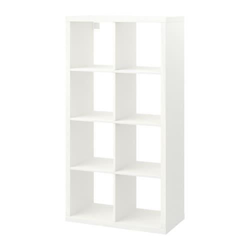 【期間限定】【IKEA/イケア/通販】 KALLAX カラックス シェルフユニット, ホワイト(d)(20351884)【代引不可商品】