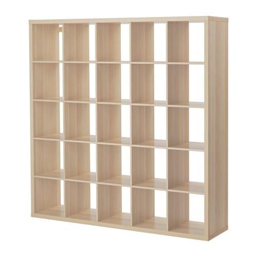 【特選商品】【IKEA/イケア/通販】 KALLAX カラックス シェルフユニット, ホワイトステインオーク調(a)(30362919)【代引不可商品】
