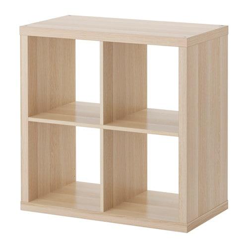 【期間限定】【IKEA/イケア/通販】 KALLAX カラックス シェルフユニット, ホワイトステインオーク調(d)(90362921)