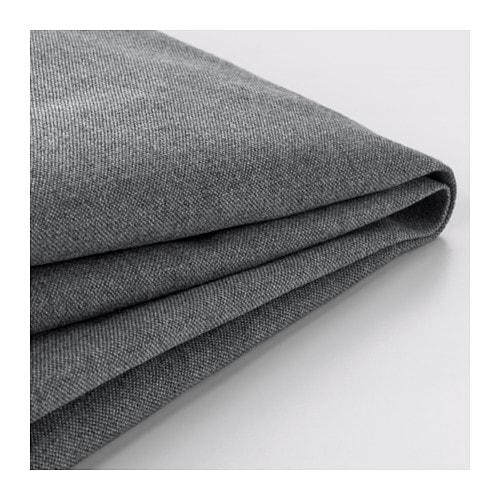 【期間限定】【IKEA/イケア/通販】 KLIPPAN クリッパン 2人掛け用ソファカバー(d)(※本体は付属しません。カバーのみの商品です), ヴィースレ グレー(00278856)