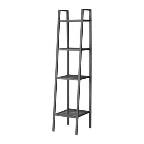 【期間限定】【IKEA/イケア/通販】 LERBERG レールベリ シェルフユニット, ダークグレー(c)(20186399)[E]