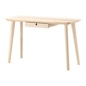 【IKEA/イケア/通販】 LISABO リーサボー デスク, アッシュ材突き板(a)(10361746)【代引不可商品】