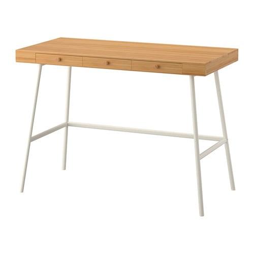 【期間限定】【IKEA/イケア/通販】 LILLÅSEN リルオーセン デスク, 竹(d)(60278288)