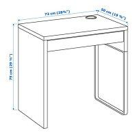 【IKEA/イケア/通販】MICKEミッケデスク,オーク調(d)(70395055)