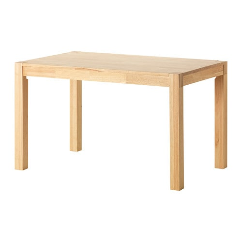 【期間限定】【IKEA/イケア/通販】 NORDBY ノールドビー テーブル, ゴムノキ(d)(60237783)【代引不可商品】[F]