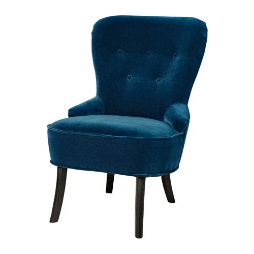 【IKEA/イケア/通販】 REMSTA レームスタ アームチェア, ジューパルプ ダークグリーンブルー(a)(20344761)【代引不可商品】
