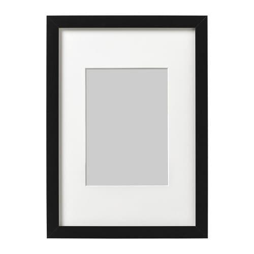 【IKEA/イケア/通販】 RIBBA リッバ フレーム, ブラック(f)(40378397)
