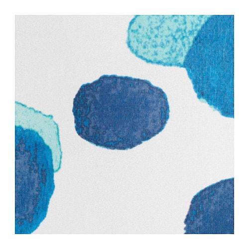 【IKEA/イケア/通販】SKORRENスコーレンシャワーカーテン,ホワイト/ブルー(c)(80339182)