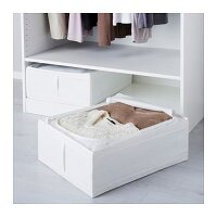 【IKEA/イケア/通販】SKUBBスクッブ収納ケース,ホワイト(e)(50290361)