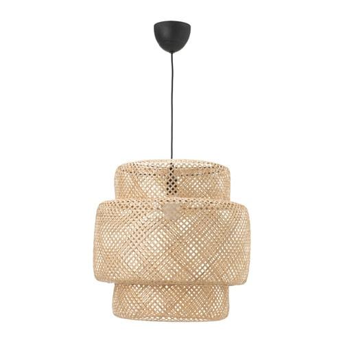 【特選商品】【IKEA/イケア/通販】 SINNERLIG スィネリグ ペンダントランプ, 竹(d)(80342194)