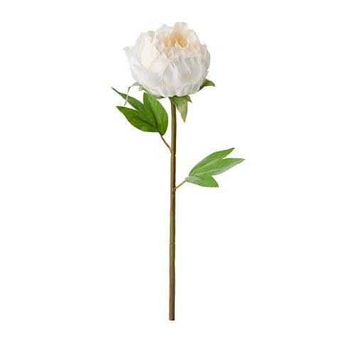 【IKEA/イケア/通販】 SMYCKA スミッカ 造花, ボタン, ホワイト(a)(90409787)