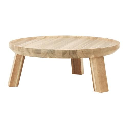 【IKEA/イケア/通販】 SKOGSTA スコグスタ サービングスタンド, アカシア材(e)(20309673)