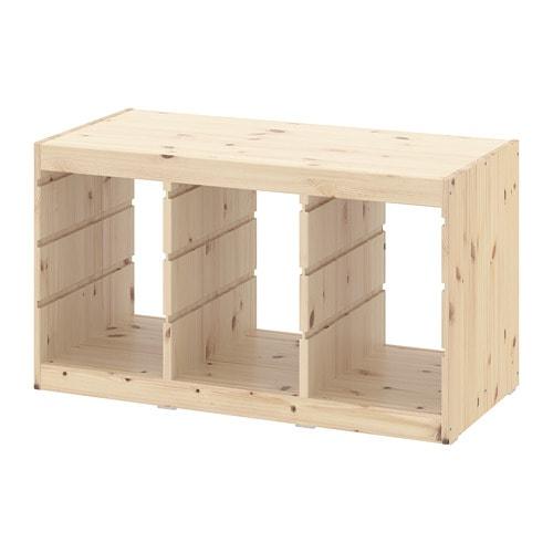 【IKEA/イケア/通販】 TROFAST トロファスト フレーム, ライトホワイトステインパイン(d)(30368836)
