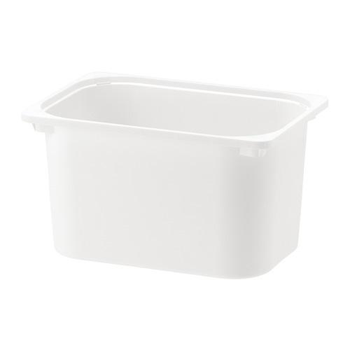 【IKEA/イケア/通販】 TROFAST トロファスト 収納ボックス, ホワイト(c)(40141673)