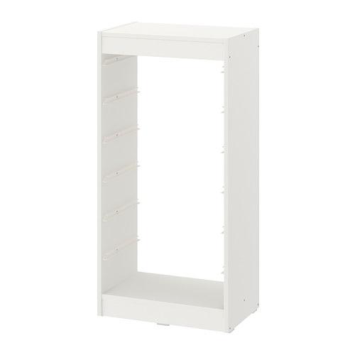 【期間限定】【IKEA/イケア/通販】 TROFAST トロファスト フレーム, ホワイト(c)(20351431)[D]