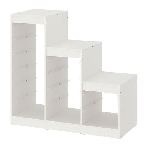 【IKEA/イケア/通販】 TROFAST トロファスト フレーム, ホワイト(80351433)